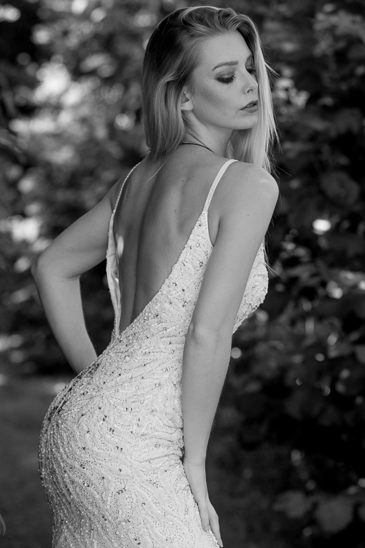 From today wth the beautiful Charliee #model #dress #monochrome